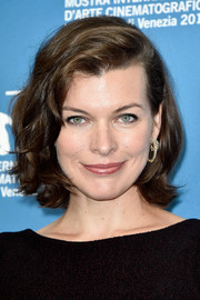 Milla Jovovich looked lovely with her wavy bob at the Venice Film Festival photocall for 'Cymbeline.'