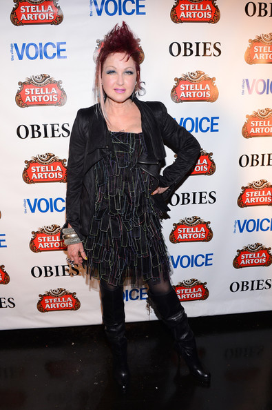 Cyndi Lauper Knee High Boots
