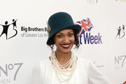 Cynthia Addai-Robinson Layered Pearl Necklace