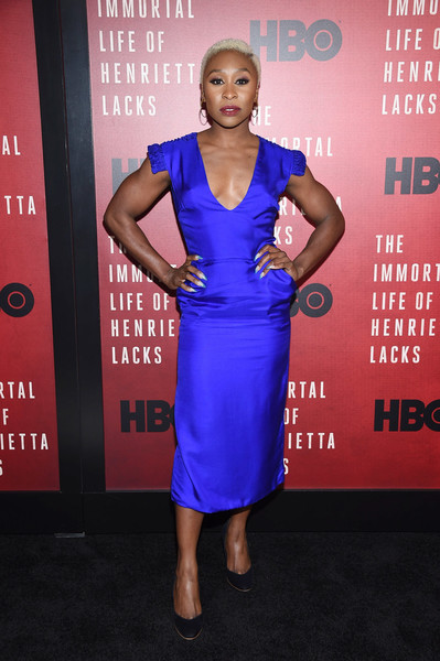 Cynthia Erivo Midi Dress