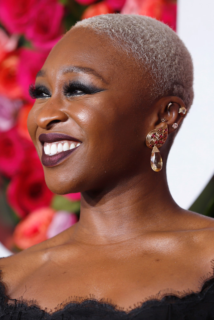 Cynthia Erivo Buzzcut Short Hairstyles Lookbook