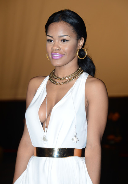 More Pics of Teyana Taylor Bright Lipstick (1 of 6) - Teyana Taylor Lookbook - StyleBistro