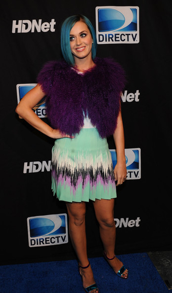 More Pics of Katy Perry Print Dress (3 of 14) - Katy Perry Lookbook - StyleBistro [clothing,electric blue,carpet,fashion,fur,dress,long hair,muscle,event,hair coloring,super,mark cuban,peyton manning,katy perry,indianapolis,indiana,directv,hdnet,sixth annual celebrity beach bowl,party]