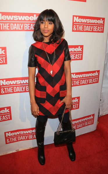 More Pics of Kerry Washington Day Dress (6 of 7) - Kerry Washington Lookbook - StyleBistro