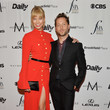 Karlie Kloss and Derek Blasberg at the 4th Annual Fashion Media Awards