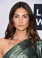 Lily Aldridge looked lovely with her gently wavy 'do at the Daily Front Row's Fashion Media Awards.