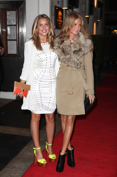 Caggie Dunlop With Millie Mackintosh