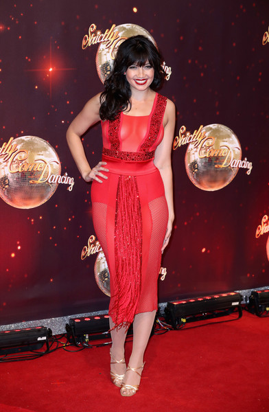Daisy Lowe Sheer Dress [strictly come dancing 2016,red,red carpet,clothing,dress,carpet,fashion model,flooring,hairstyle,fashion,cocktail dress,daisy lowe,england,borehamwood,red carpet launch,elstree studios,launch]