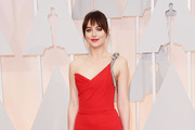 Dakota Johnson One Shoulder Dress