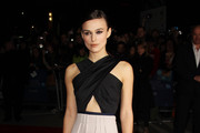 (UK TABLOID NEWSPAPERS OUT) Keira Knightley attends the premiere for 'A Dangerous Method' at The 55th BFI London Film Festival at The Odeon West End on October 24, 2011 in London, United Kingdom.