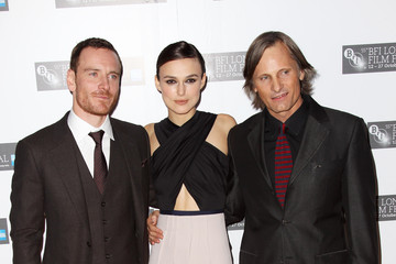 Keira Knightley Michael Fassbender A Dangerous Method - Premiere:55th BFI London Film Festival - Inside Arrivals