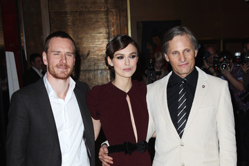 Keira Knightley Michael Fassbender The UK Premiere of 'A Dangerous Method'