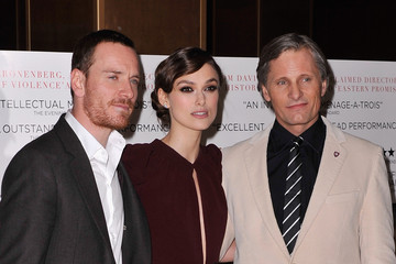 Keira Knightley Michael Fassbender A Dangerous Method - UK Gala Premiere - Red Carpet Arrivals
