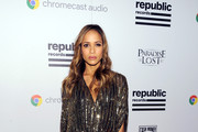 Dania Ramirez Beaded Clutch