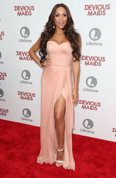 Dania Ramirez Strapless Dress
