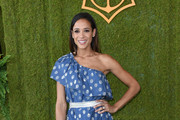 Dania Ramirez One Shoulder Dress