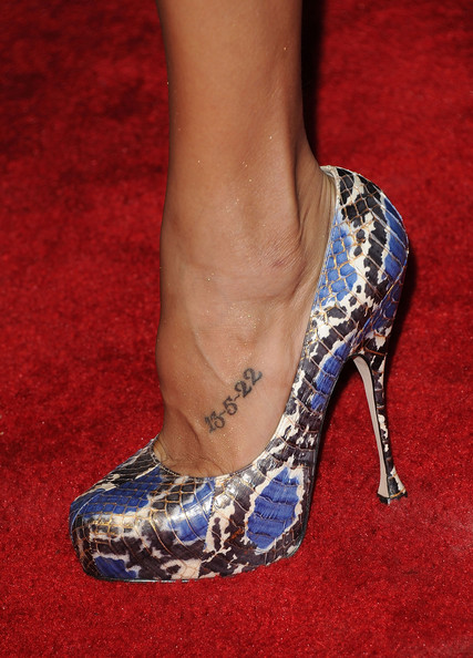 Dania Ramirez Body Art