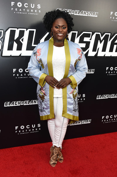 Danielle Brooks Skinny Pants [red carpet,carpet,red carpet,hairstyle,fashion,premiere,outerwear,footwear,flooring,suit,event,danielle brooks,blackkklansman,new york,brooklyn academy of music,new york premiere]