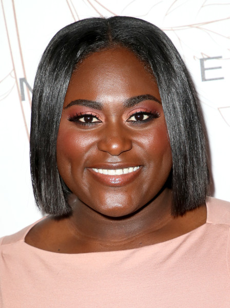 Danielle Brooks Bob [hair,face,eyebrow,hairstyle,forehead,chin,black hair,head,lip,skin,nominees,danielle brooks,screen actors guild awards,california,los angeles,chateau marmont,new york,entertainment weekly hosts celebration,maybelline,nominees celebration]