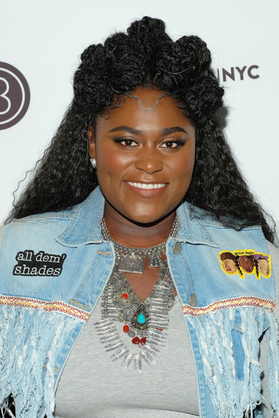 Danielle Brooks Half Up Half Down
