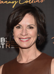 Elizabeth Vargas wore her hair in a textured bob at the premiere of 'Danny Collins.'