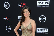 Daphne Zuniga Beaded Dress