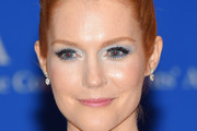 Darby Stanchfield Bright Eyeshadow