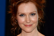 Darby Stanchfield Messy Updo
