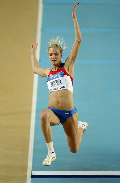 Darya Klishina Hair