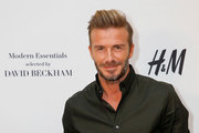David Beckham Launches His H&M Modern Essentials Campaign in Los Angeles Area