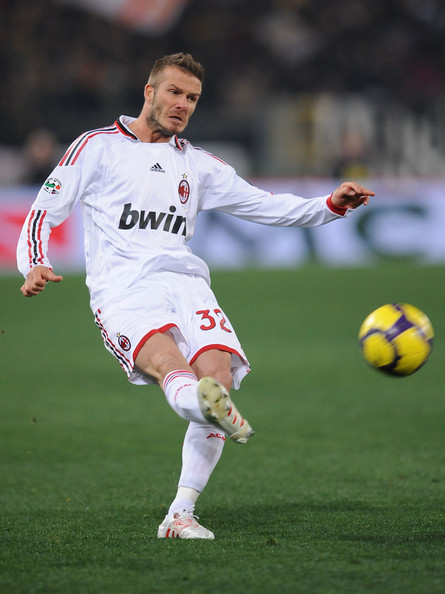 David Beckham Spiked Hair