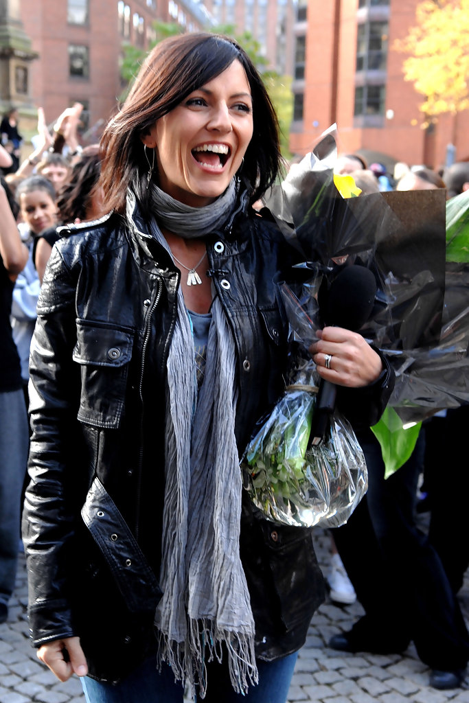 Davina Mccall Leather Jacket Davina Mccall Looks