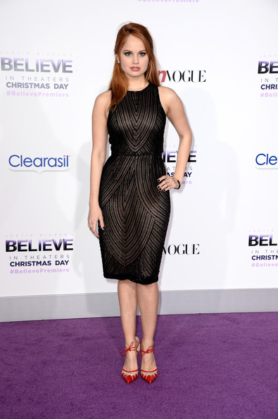 Debby Ryan Beaded Dress