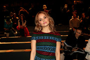 Debby Ryan Embroidered Dress