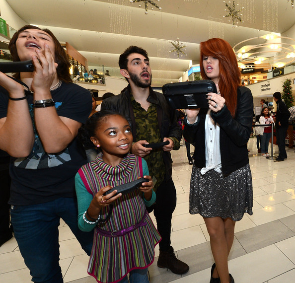 """Nintendo Teams Up With Disney Stars For """"How You Will Play Next"""" During The Wii U Showdown At The Westfield Culver City Mall"""
