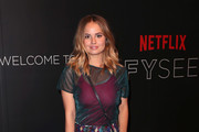 Debby Ryan Sheer Top