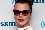 Debi Mazar Braided Bun