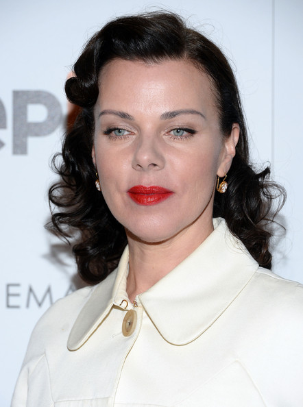 Debi Mazar Medium Wavy Cut [hair,face,lip,hairstyle,eyebrow,skin,beauty,chin,cheek,fashion,debi mazar,screening,the paris theatre,new york city,dolce gabbana and the cinema society present the epix world premiere,the cinema society,epix world,madonna: the mdna tour,premiere]