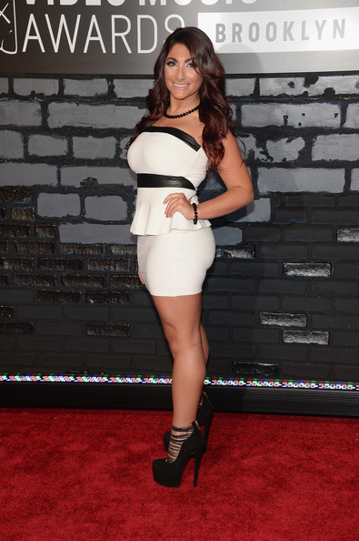 Deena Nicole Cortese Strapless Dress