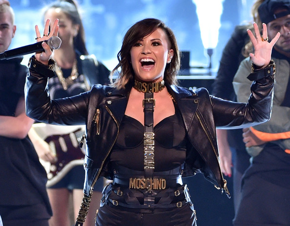 Demi Lovato Oversized Belt