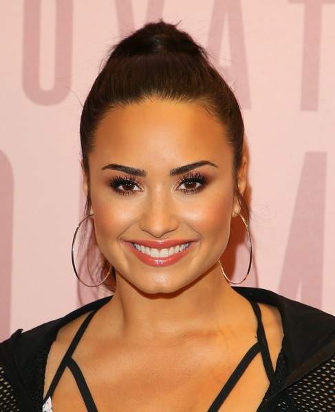 More Pics of Demi Lovato Crosstrainers (1 of 10) - Demi Lovato Lookbook - StyleBistro [demi lovato,arrivals,hair,face,eyebrow,hairstyle,lip,beauty,eyelash,chin,forehead,black hair,del amo fashion center,torrance,california,fabletics]