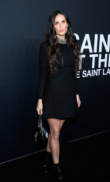 Demi Moore Little Black Dress