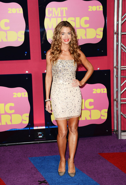 Denise Richards Beaded Dress