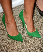 Reese Witherspoon stepped out in a pair of classy green Anouk pumps by Jimmy Choo  at the premiere of 'The Devil's Knot.'