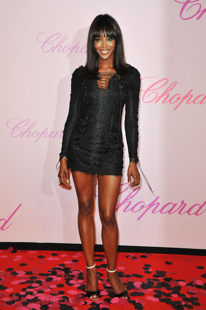 Model Naomi Campbell attends the Diamonds Are Girls Best Friend event during the 64th Annual Cannes Film Festival held at Nikki Beach on May 16, 2011 in Cannes, France.