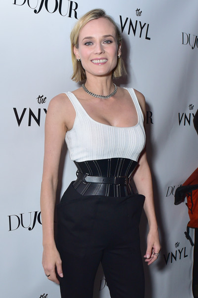 Diane Kruger Oversized Belt