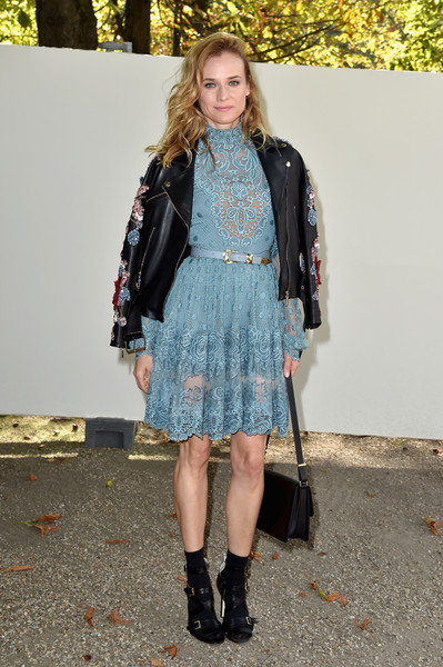 Diane Kruger Lace Dress