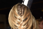 Diane Kruger French Braid