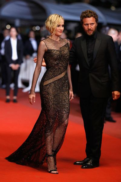 Diane Kruger Strappy Sandals [the fade,red carpet arrivals - the 70th annual cannes film festival,cannes film festival at palais des festivals on may 26,red carpet,carpet,dress,clothing,fashion model,fashion,premiere,flooring,event,haute couture,diane kruger,nichts,cannes,france]