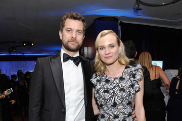Diane Kruger Joshua Jackson InStyle and Warner Bros. Golden Globes Party
